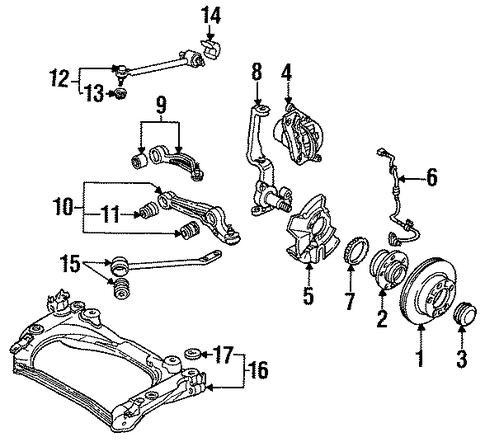 Mazda Upper Control Arm H43034c00