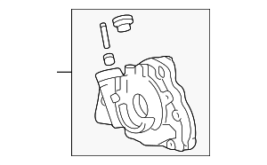 Oil Pump - Toyota (15100-88600)