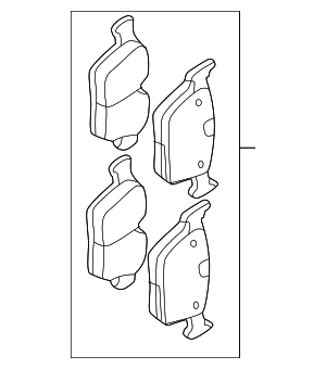 Brake Pads - Land-Rover (LR110327)