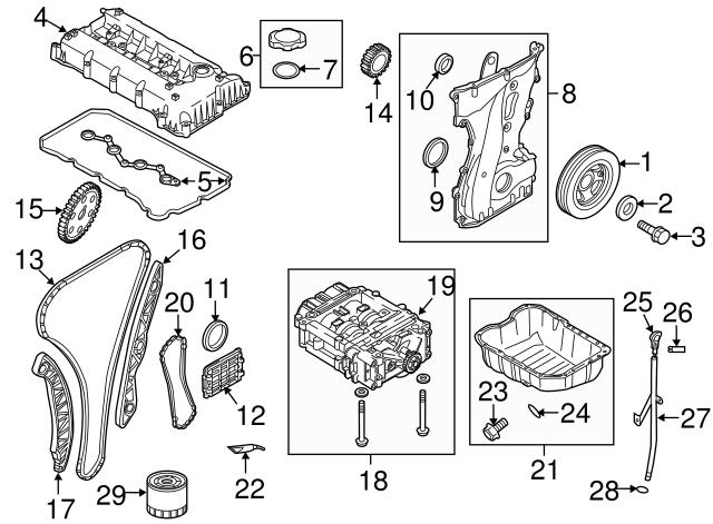 Kia Kia Camshaft Gear 24350 25000 Genuine Kia Parts