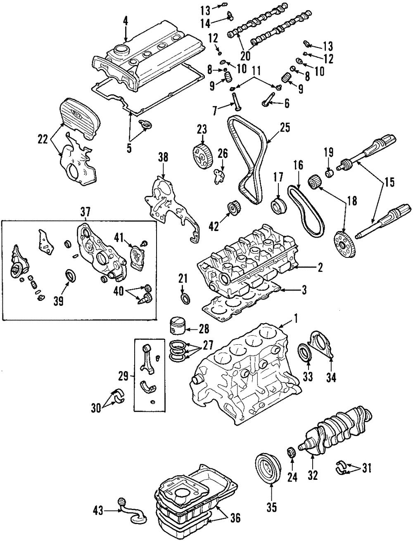 [ZTBE_9966]  OEM Genuine Engine Intake Valve Cover Gasket Seals 2001-2006 Kia  22224-38000 | eBay | 2006 Kia Optima Engine Diagram |  | eBay