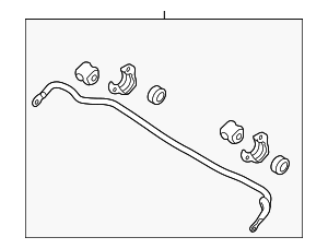Stabilizer Bar - Hyundai (54810-2M250)