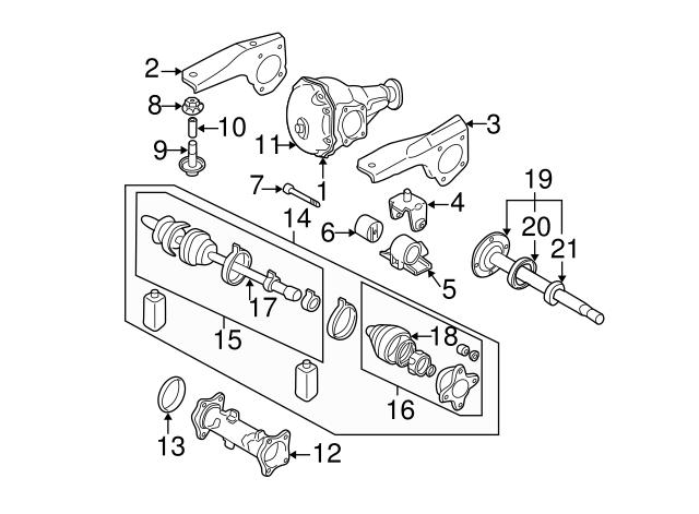 Mitsubishi Inner Shaft Mb393868