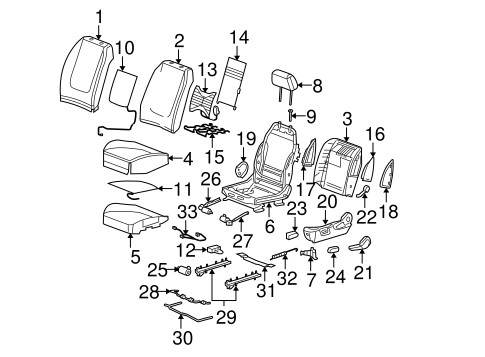 2007 Pontiac G6 2 4 Engine Diagram