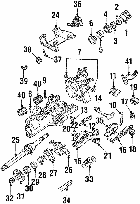 Housing & Components for 2000 Ford Windstar #0