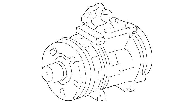 1995 2003 Toyota Tacoma Compressor 88320 35550 84