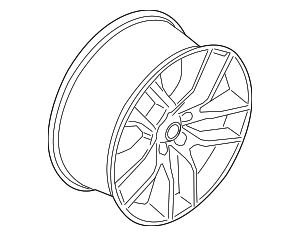Wheel - Ford (JR3Z-1007-C)