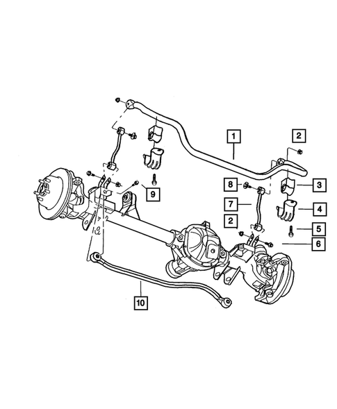 Front Suspension for 2004 Jeep Grand Cherokee #0