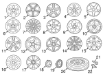 Wheel - Mercedes-Benz (230-401-59-02)