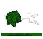 Remanufactured Alternator Assembly - Ford (4U2Z-10V346-DLRM)