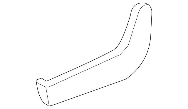 Honda Genuine 82615-SHJ-A02ZB Seat Foot Cover