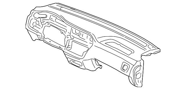 Panel Assembly, Instrument *NH283L* (Quartz Gray)