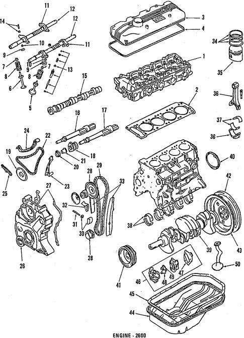 1987 mitsubishi montero parts