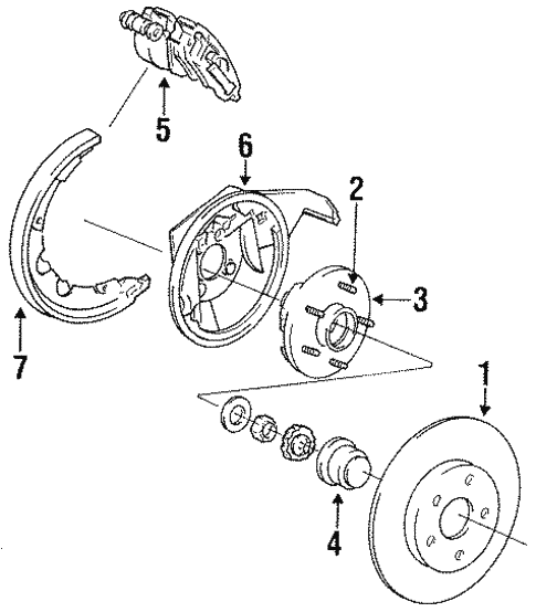 Rear Brakes For 1997 Dodge Intrepid