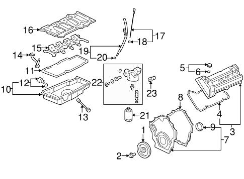 oem 2006 cadillac dts engine parts parts. Black Bedroom Furniture Sets. Home Design Ideas