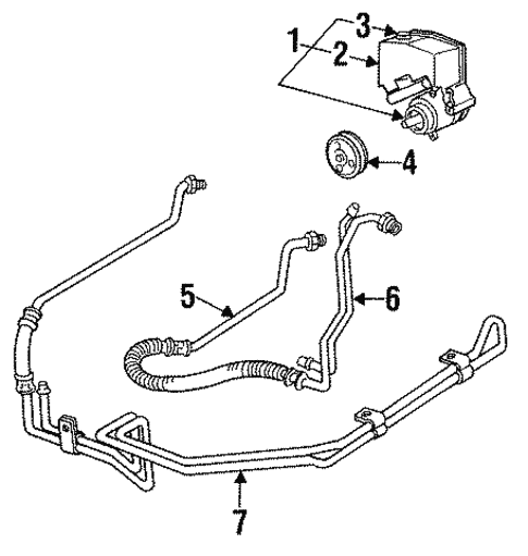 1993 Chevrolet Lumina Apv Interior: OEM 1993 Chevrolet Lumina Pump & Hoses Parts