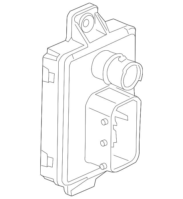 Genuine Gm Module Asm Glow Plug Cont 12650593