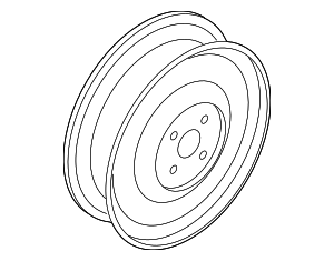 Wheel, Spare - Nissan (40300-3RC0D)