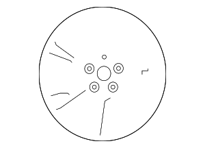 Wheel, Alloy - Nissan (40300-4FU1B)