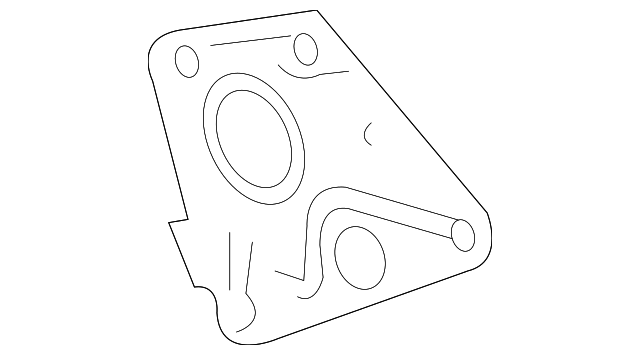 Genuine Gm Engine Coolant Outlet Gasket 12577704