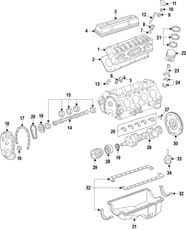 Timing Chain - GM (14088783)