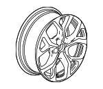 Wheel, Alloy - GM (84451764)