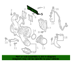 Turbocharger Bracket - Toyota (17167-WAA02)
