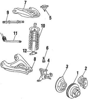 Control Arm, Right, Right Upper, Front Right Upper Right, Front Right Upper Upper