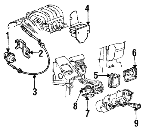 [TVPR_3874]  Cruise Control for 1994 Buick LeSabre | GM Parts Online | Buick Cruise Control Diagram |  | GM Parts Online