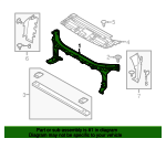 Radiator Support - Ford (FL3Z-16138-A)