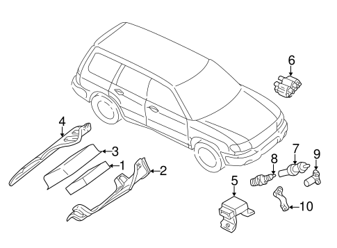 Ignition System For 1998 Subaru Forester