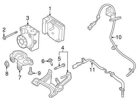 Abs Components For 2016 Ford Edge