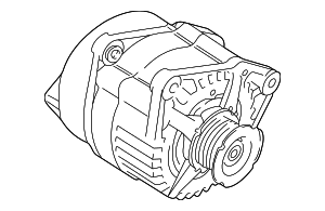 Alternator - Land-Rover (YLE500090)