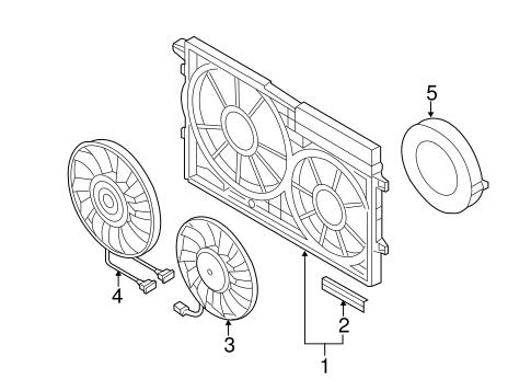 Cooling Fan For 2011 Volkswagen Jetta