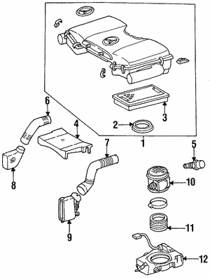 Air Cleaner Assembly Lower Seal