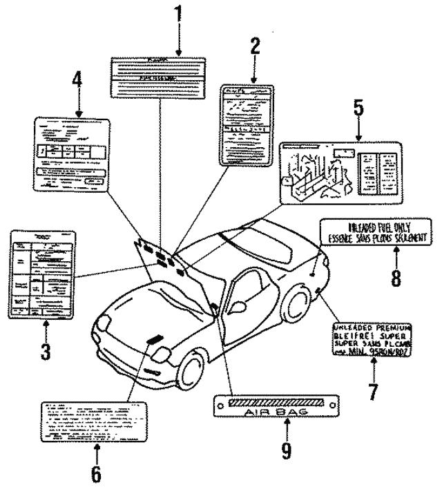 1995 Mazda Rx 7 Vacuum Diagram N3d869044