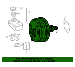 Power Brake Booster - Mercedes-Benz (005-430-55-30-28)