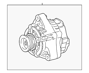 Alternator - Toyota (27060-0F060-84)