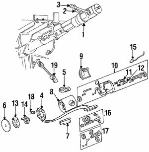 genuine chrysler jeep dodge ram turn signals tucson mopar parts Jeep CJ7 Light Switch turn signal actuator