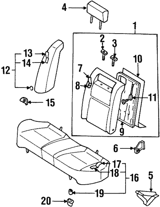 Infiniti G35 Seats