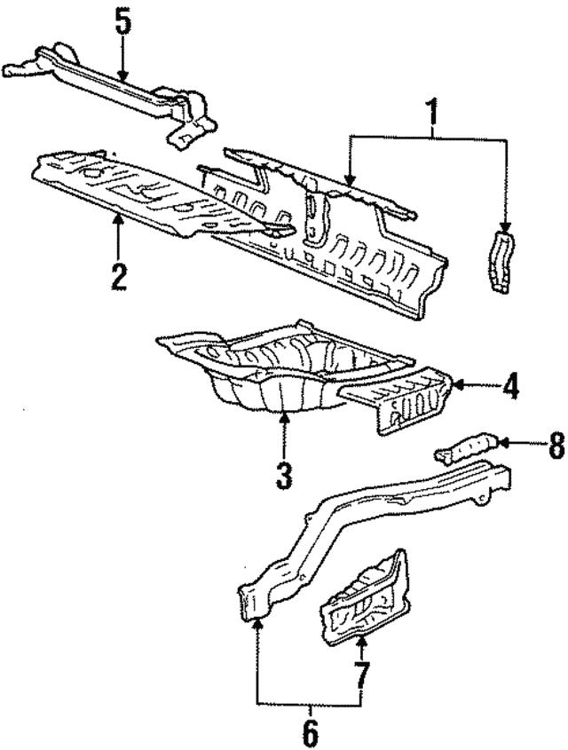 1988 Mitsubishi Galant Sigma Engine Diagram