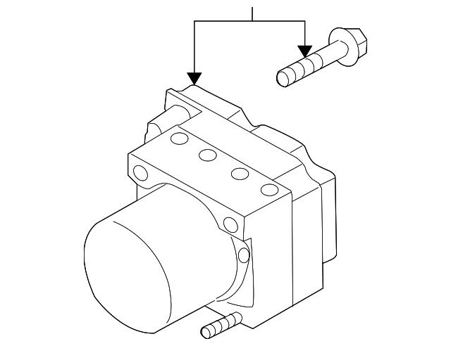 Find Genuine Volkswagen Abs Control Unit Repair Kit 8e0998375j