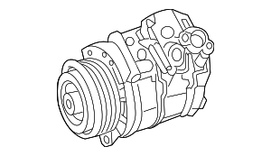 Compressor Assembly - Mercedes-Benz (000-830-30-01)