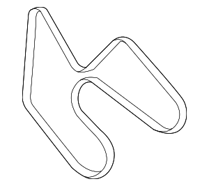 Serpentine Belt - Ford (9L2Z-8620-A)