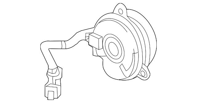 2015 2017 Acura Tlx Sedan Motor Cooling Fan 38616 5j2 A01