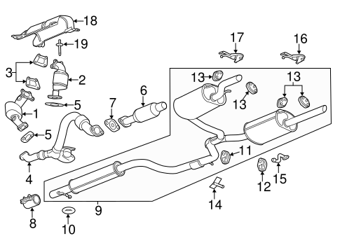 chevrolet exhaust diagram wiring schematic diagram 2004 Chevy Trailer Wiring Diagram exhaust manifold for 2013 chevrolet impala ltz gmpartsnow chevrolet trailer wiring diagram exhaust system