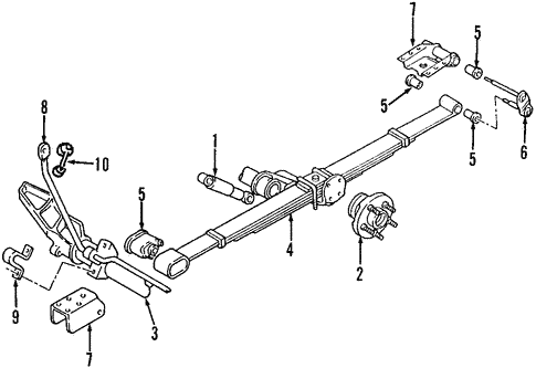 Dodge Caravan Rear Suspension Diagram