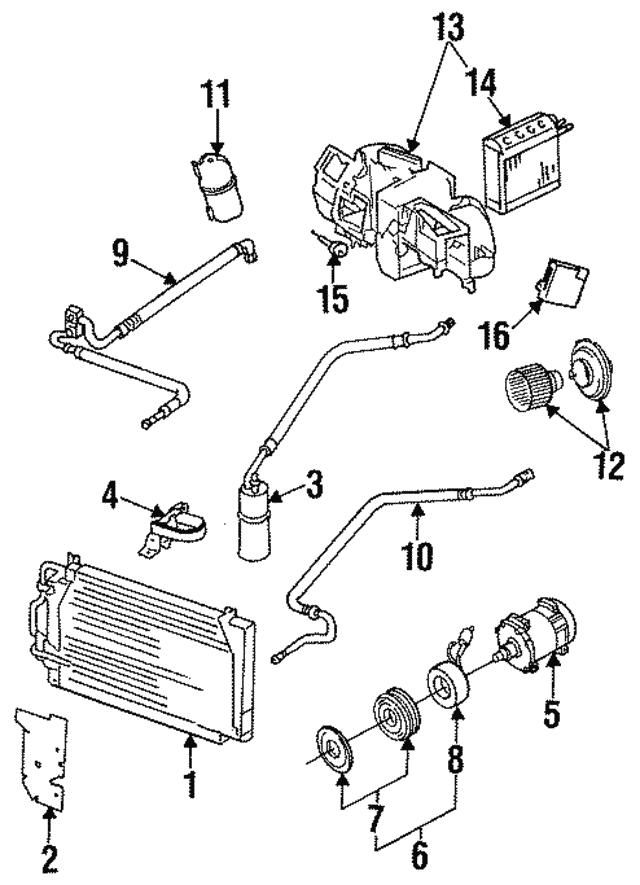 vacuum reservoir mopar 53003052 mopar america Jeep J30 vacuum reservoir