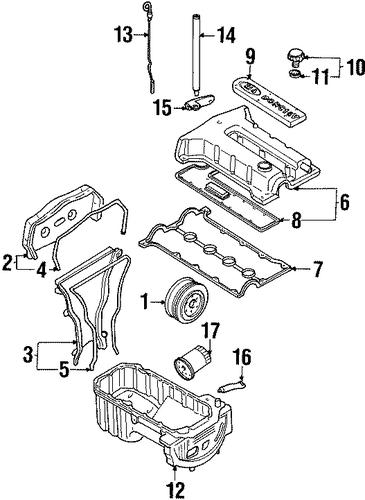 Engine Parts For 2000 Kia Sephia Kiapartsoutlet Com