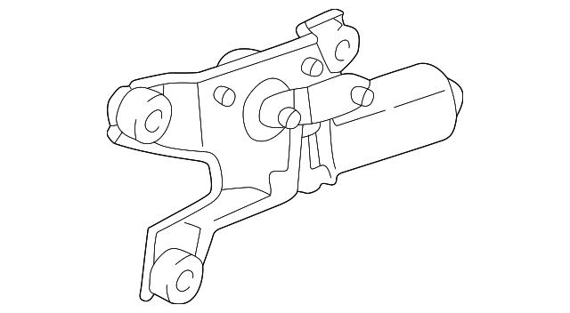Toyota 85241-08010 Windshield Wiper Arm